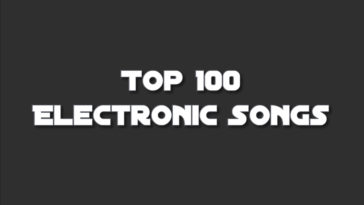 iTunes Top 100 Electronic Songs Chart