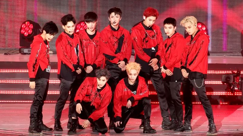 EXO Top 20 Most Popular K-pop Group in the world