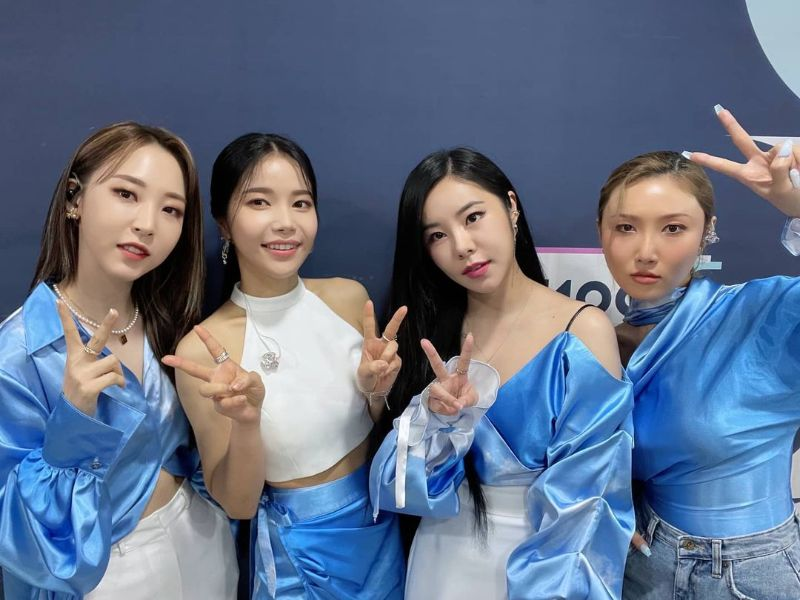 Mamamoo Top 20 Most Popular K-pop Group in the world