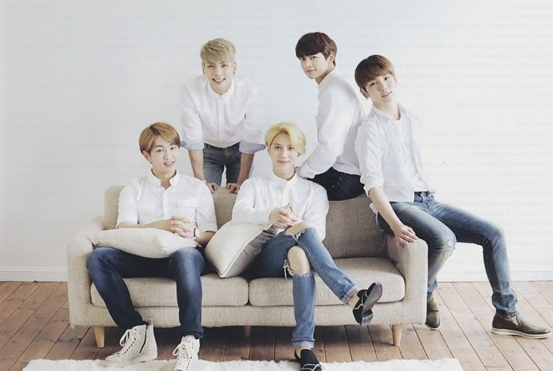 SHINee Top 20 Most Popular K-pop Group in the world
