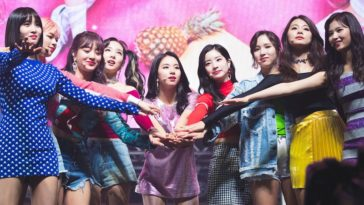 Twice Top 20 Most Popular K-pop Group in the world